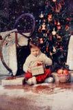 Los regalos del Año Nuevo Fotografía de archivo