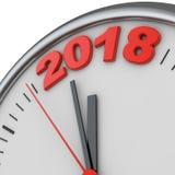 Los relojes 2018 Fotos de archivo libres de regalías