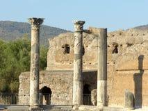 Los restos antiguos de una ciudad romana de Lazio - Italia 03 Imagenes de archivo