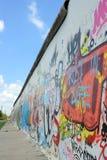 Los restos de Berlin Wal foto de archivo