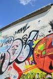 Los restos de Berlin Wall imagenes de archivo