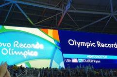 Los resultados del cortocircuito del ` s de los hombres pusieron finales en Rio2016 Imagenes de archivo