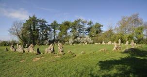 Los reyes Men Stone Circle Fotos de archivo libres de regalías