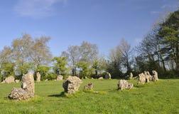 Los reyes Men Stone Circle Imágenes de archivo libres de regalías