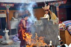 Rituales religiosos imagen de archivo libre de regalías