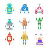 Los robots fijaron 2 Imagenes de archivo