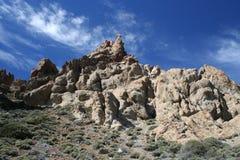 Los Roques de Garcia Lizenzfreies Stockfoto