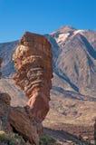 Los Roques de Garcia et volcan Teide Photographie stock