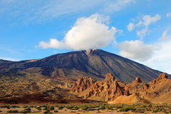 Los Roques De Garcia, Teide National Park Tenerife Royalty Free Stock Photography