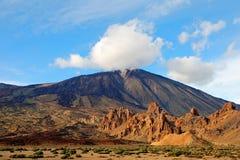 Los Roques De Garcia, Teide National Park Tenerife Royalty Free Stock Photography