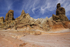 Los Roques at El Teide National Park. royalty free stock images