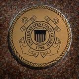 Los símbolos militares de los E.E.U.U. para Estados Unidos mantienen el aire de los infantes de marina de la marina de guerra fotografía de archivo