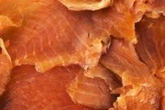 Los salmones cortaron en rebanadas imagen de archivo libre de regalías
