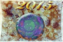 Los saludos del Año Nuevo Imagenes de archivo