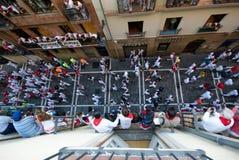 Los sanfermines, Pamplona Royalty Free Stock Photo