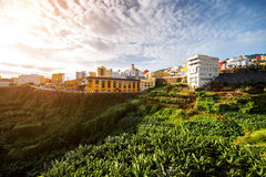 Los Sauces city on La Palma island Stock Photo