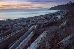 Los scapes escénicos hermosos de Vancouver y de Fraser Valley Scenic Backgrounds Foto de archivo
