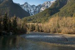 Los scapes escénicos hermosos de Vancouver y de Fraser Valley Scenic Backgrounds Imagenes de archivo