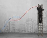 Los segundos conceptos de la curva libre illustration
