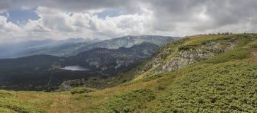 Los siete lagos Rila, Bulgaria Fotos de archivo libres de regalías