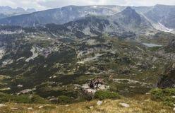 Los siete lagos Rila, Bulgaria Imagen de archivo libre de regalías