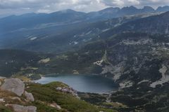 Los siete lagos Rila, Bulgaria Imágenes de archivo libres de regalías