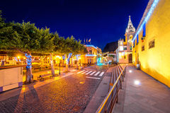 Los Silo'sdorp op Tenerife isalnd royalty-vrije stock afbeelding