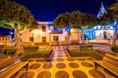 Los Silos village on Tenerife isalnd Stock Photo