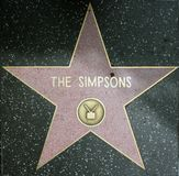 Los simpsons Fotos de archivo