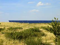 los Solar-paneles 03 Foto de archivo