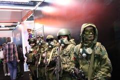 Los soldados están listos para luchar Imagen de archivo