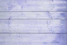 Los tableros horizontales de madera pintaron la lila Fondo de madera de la lila fotos de archivo