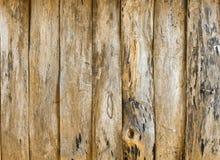 Los tablones de madera viejos Foto de archivo libre de regalías
