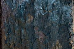 Los tablones de madera viejos se agrietaron por un fondo rústico Fotos de archivo libres de regalías