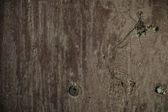 Los tablones de madera viejos se agrietaron por un fondo rústico Fotografía de archivo libre de regalías