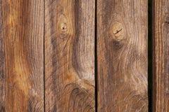 Los tablones de madera viejos se cierran encima de fondo foto de archivo