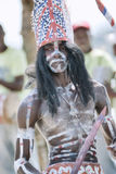 Los Tainos dancer in Samana, Dominican Republic Stock Photography
