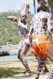 Los Tainos, het weer invoeren van de originele Afrikaanse slaven Royalty-vrije Stock Foto's