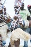 Los Tainos, het weer invoeren van de originele Afrikaanse slaven die aan de Dominicaanse Republiek werden gebracht en een deel va Stock Foto
