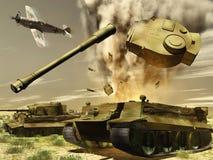 Los tanques Imagen de archivo libre de regalías