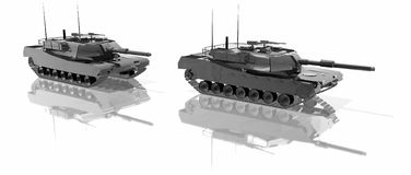 Los tanques Fotos de archivo