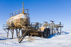 Los tanques de aceite Imagenes de archivo