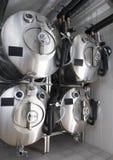 Los tanques de acero Fotografía de archivo libre de regalías