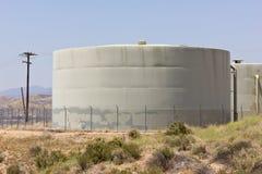 Los tanques de agua foto de archivo libre de regalías