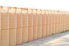 Los tanques de agua Imagen de archivo