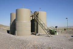 Los tanques de agua amargos Imagen de archivo
