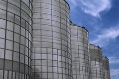 Los tanques de almacenaje Fotografía de archivo libre de regalías