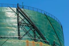 Los tanques de almacenamiento Imagen de archivo