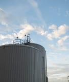 Los tanques de almacenamiento del agua Foto de archivo libre de regalías
