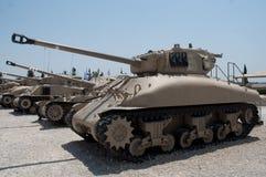 Los tanques de ejército. fotografía de archivo libre de regalías